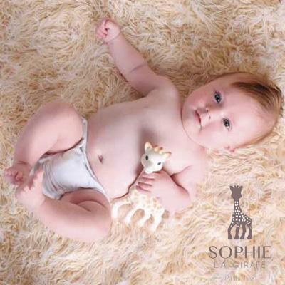 Sophie la Girafe, un juguete encantador