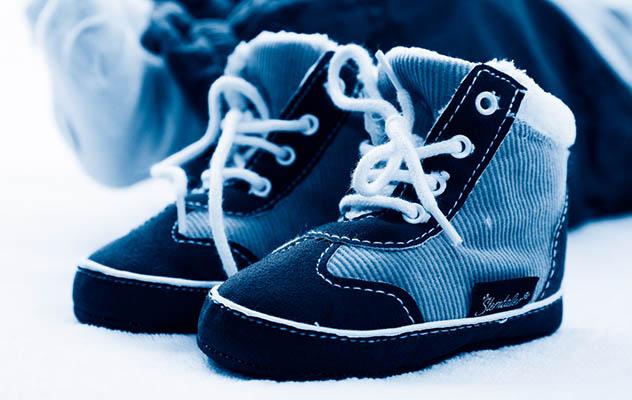 El calzado del bebé