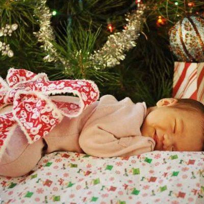 Las navidades con un recién nacido